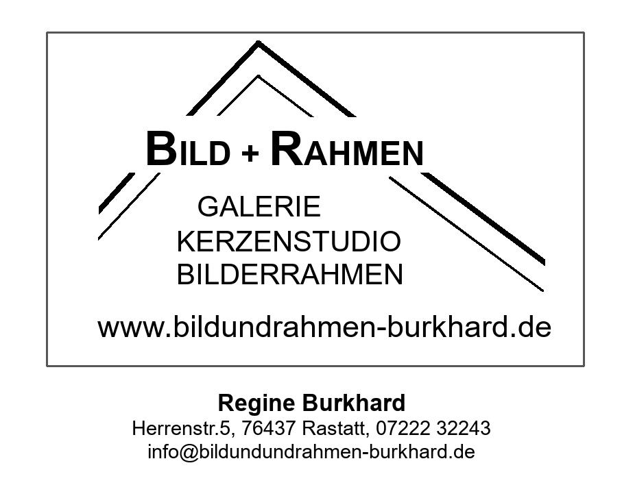 Logo: Bild und Rahmen Burkhard (Werkstatt ist geöffnet)
